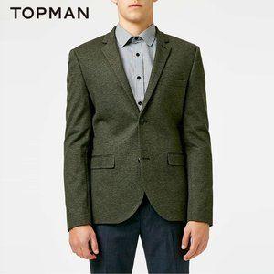 Topman Hunter / Olive Green Blazer Size 40